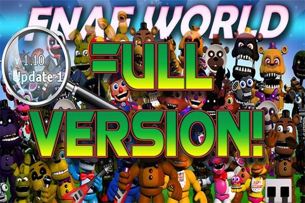 Fnaf World Unblocked